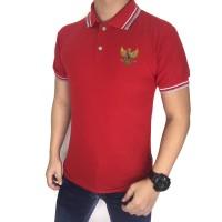 SALE PROMO Polo Shirt Pria Garuda / Kaos Polo Kerah Wangki Shirt
