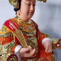 Patung Dewi Ma Zu Ma Co Dewi Pelindung Laut 12 Inch Fiber Impor