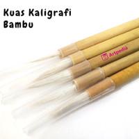 Kuas Kaligrafi Bambu