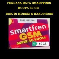 PERDANA DATA SMARTFREN 4G KUOTA 60 GB BISA DI MODEM & HP