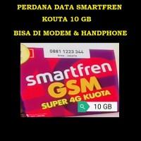 PERDANA KUOTA SMARTFREN 4G KUOTA 10 GB BISA DI MODEM & HP