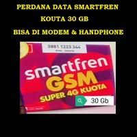 PERDANA DATA SMARTFREN 4G KUOTA 30 GB BISA DI MODEM & HP