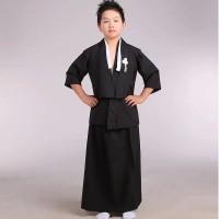 Kimono Jepang Yukata Cosplay anak laki size M