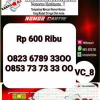 Nomer Cantik ASSeri Double AA 3300 -0823 6789 3300 VC8 974