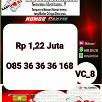 Kartu Perdana ASSeri Ilufa 168 -085 363636 168 Hoki VC8 766