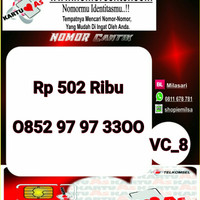 Nomer Cantik ASSeri Double AA 3300 -0852 9797 3300 VC8 977