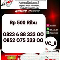 Nomer Cantik ASSeri Double AA 3300 -0823 6 88 333 00 VC8 972