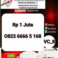 Kartu Perdana ASSeri Ilufa 168 -0823 6666 5 168 Hoki VC8 769