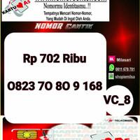 Kartu Perdana As Seri Ilufa 168- 0823 7080 9 168 Hoki VC8 730