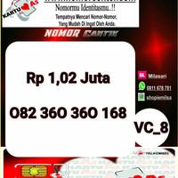 Kartu Perdana ASSeri Ilufa 168 -082 360 360 168 Hoki VC8 756