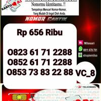 Nomor Cantik ASEkor Double AA 2288- 0823 6171 2288 Rapi VC8 967