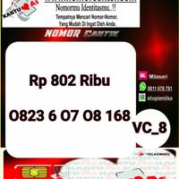 Kartu Perdana ASSeri Ilufa 168 -0823 6 07 08 168 Hoki VC8 758