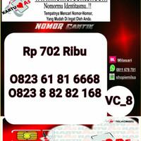 Kartu Perdana As Seri Ilufa 168- 0823 8 8282 168 Hoki VC8 727