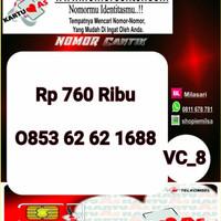 Nomer Cantik ASSeri Ilufa 168-0853 6262 1688 Hoki VC8 740