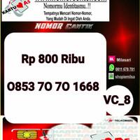 Nomer Cantik ASSeri Ilufa 168-0853 7070 1668 Hoki VC8 743