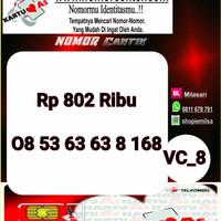 Kartu Perdana ASSeri Ilufa 168 -0853 6363 8 168 Hoki VC8 761