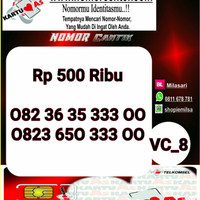 Nomer Cantik ASSeri Double AA 3300 -082 36 35 333 00 VC8 975