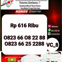 Nomor Cantik ASEkor Double AA 2288- 0823 6608 2288 Rapi VC8 963