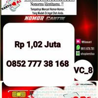 Kartu Perdana ASSeri Ilufa 168 -0852 777 38 168 Hoki VC8 764