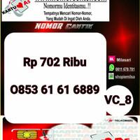 Kartu Perdana As Seri Ilufa 168- 0853 6161 6889 Hoki VC8 726