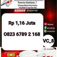 Kartu Perdana ASSeri Ilufa 168 -0823 6789 2 168 Hoki VC8 767
