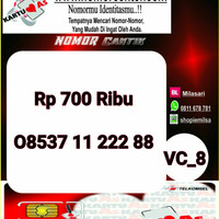 Nomor Cantik ASEkor Double AA 2288- 08537 11 222 88 Rapi VC8 968