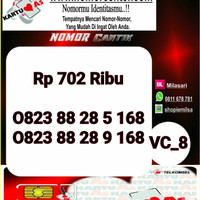 Kartu Perdana As Seri Ilufa 168- 0823 8828 5 168 Hoki VC8 734