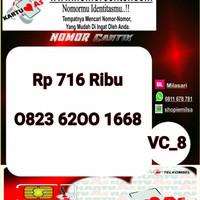 Kartu Perdana As Seri Ilufa 168- 0823 6200 1668 Hoki VC8 731