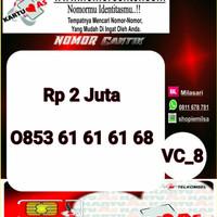 Kartu Perdana ASSeri Ilufa 168 -0853 6161 6168 Hoki VC8 762