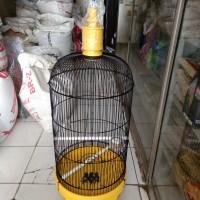 Kandang love bird pvc ebod jaya warrna kuning