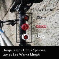 Lampu Seatpost Sepeda Lampu Saddle Sepeda NOT Cateye Nima Hitam