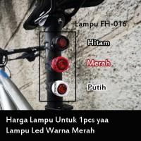 Lampu Seatpost Sepeda Rear Lamp Bike Lampu Saddle NOT Cateye Nima RED