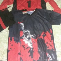 Baju jersey setelan baju + celana vulcano nike volcano GRADE ORI