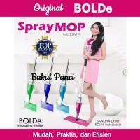 SPRAY MOP BOLDE Stainless Alat Pel Lantai Otomatis Super Mop Wonder