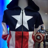 Jaket anak captain america