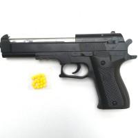 mainan pistol kokang tembak tembakan senjata air softgun airsoft gun