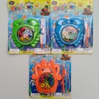 mainan edukatif edukasi anak pancing pancingan kepiting gurita fishing