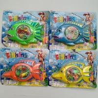 mainan edukatif edukasi anak pancing pancingan motif ikan fishing game