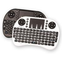 Keyboard Wireless Mini 2.4G dengan Touchpad untuk KODI/TV/Android/PC