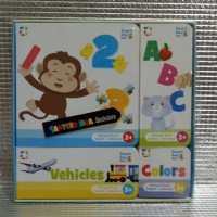 Smart Baby Set: Numbers, Alphabet, Colors & Vehicles by Team Merchandi