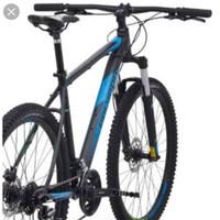 Sepeda Gunung Polygon Premier 4 Black - Blue 27.5