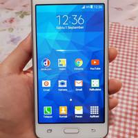 Hp Second Samsung Grand Prime Duos Putih Mulus Lengkap