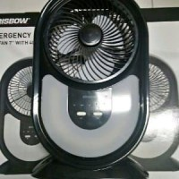 Emergency Box Fan KRISBOW 40 LED - Kipas Angin Lampu Da Promo