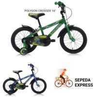 SEPEDA POLYGON CROSSER BMX 16 KIDS