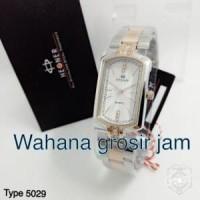 jam tangan wanita HEGNER 5029 full hitam Limited