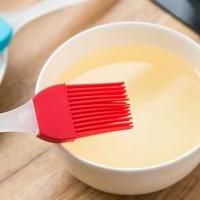 Sikat minyak Kuas panggang sikat baking pancake pegangan Bahan Kristal