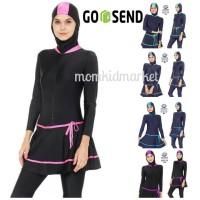 Baju Renang Muslimah Ukuran M, L dan XL Dewasa ES-ML-DW-206