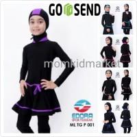 Baju Renang Anak SD Muslim Muslimah Ukuran M, L dan XL ML-TG-P-009