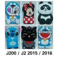Samsung J2 biasa // J2 2015 // J200 // case boneka lucu 0209