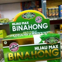 HIJAU MAX Original Kapsul Extrak Daun BINAHONG Darusyifa
